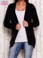 Granatowy włochaty sweter                                                                           zdj.                                                                         1