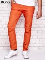 HUGO BOSS Pomarańczowe spodnie męskie                                  zdj.                                  1