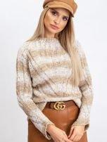 Jasnobeżowy sweter Fantasy                                  zdj.                                  6
