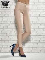 Niebieskie spodnie rurki skinny                                                                          zdj.                                                                         1