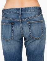 Jasnoniebieskie spodnie girlfriend jeans z cieniowaniem                                  zdj.                                  6