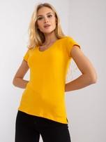 Jasnopomarańczowy t-shirt Square                                  zdj.                                  1
