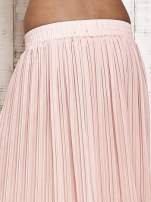 Jasnoróżowa spódnica maxi w plisy                                  zdj.                                  5