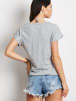 Jasnoszary t-shirt z awokado                                  zdj.                                  2
