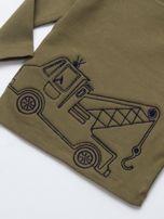 Khaki bluzka dla chłopca                                   zdj.                                  2
