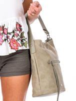 Khaki miejska torba z kieszeniami                                  zdj.                                  3