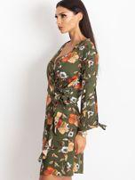 Khaki sukienka Maybe                                  zdj.                                  3