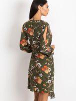 Khaki sukienka Maybe                                  zdj.                                  2