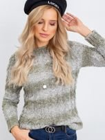 Khaki sweter Tracey                                  zdj.                                  5