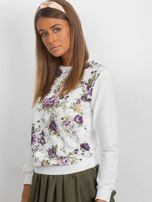 Klasyczna bluza w kwiatowy print                                  zdj.                                  4