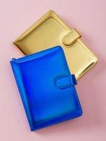 Kobaltowy lustrzany notes                                  zdj.                                  1