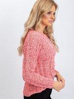 Koralowy sweter Jessica                                  zdj.                                  3