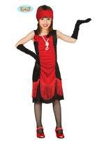 Kostium dla dziewczynki w stylu retro