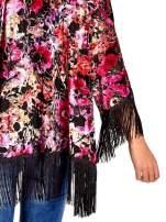 Kwiatowe kimono z frędzlami                                  zdj.                                  7