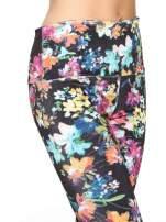 Kwiatowe legginsy z wysokim stanem                                  zdj.                                  6