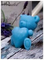 LaQ Mydełko Duży miś z sercem - niebieski / Zapach - wata cukrowa BEZ SLS i SLES                                  zdj.                                  1