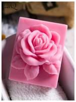 LaQ Mydełko Róża w prostokącie - różowy / Zapach - truskawka BEZ SLS i SLES                                  zdj.                                  4