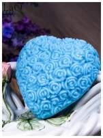 LaQ Mydełko Wielkie serce - niebieski / Zapach - wata cukrowa BEZ SLS i SLES                                  zdj.                                  1