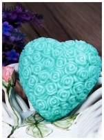 LaQ Mydełko Wielkie serce - zielony / Zapach - jabłko i orzechy BEZ SLS i SLES                                  zdj.                                  1