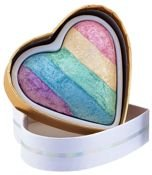 MAKEUP REVOLUTION Rozświetlacz wypiekany Unicorns Heart Baked Highlighter 10g