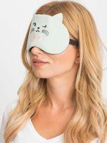 Miętowa maska do spania                                  zdj.                                  1