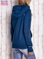 Morska bluza z kapturem i troczkami                                                                          zdj.                                                                         4