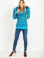 Niebieska bluza Mentality                                  zdj.                                  4