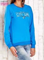 Biała bluza z napisem CITY GIRL