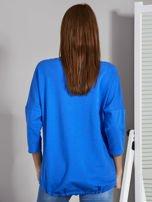 Niebieska bluza z motywem motyli                                  zdj.                                  2