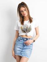 Niebieska damska spódnica jeansowa                                  zdj.                                  6