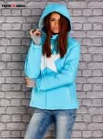 Niebieska kurtka narciarska z motywem gwiazdy FUNK N SOUL                                  zdj.                                  2