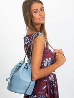 Niebieska torebka z łańcuszkiem                                  zdj.                                  5