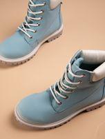 Niebieskie buty trekkingowe damskie traperki Shimmy                                  zdj.                                  6