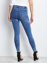 Niebieskie jeansy Damaged                                  zdj.                                  2
