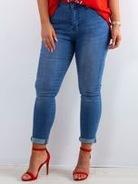 Niebieskie jeansy Feeling PLUS SIZE                                  zdj.                                  1