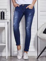 Niebieskie jeansy skinny                                   zdj.                                  1