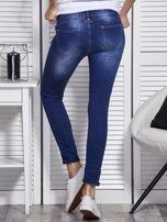 Niebieskie jeansy skinny                                   zdj.                                  2