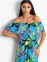 Niebiesko-zielona sukienka Caraibbean                                  zdj.                                  5