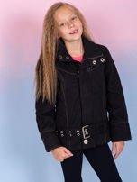 O'NEILL Czarna kurtka dla dziewczynki                                   zdj.                                  2