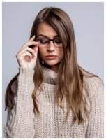 Okulary korekcyjne +1.0 D do czytania z systemem FLEX na zausznikach +GRATIS PLASTIKOWE ETUI I ŚCIERECZKA Z MIKROFIBRY