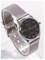 Piękny damski zegarek z PIESKIEM na bransolecie typu Mesh                                  zdj.                                  3