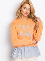 Pomarańczowa bluza Lucky                                  zdj.                                  5
