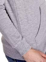 Pomarańczowa bluza z szarym pasem                                  zdj.                                  8