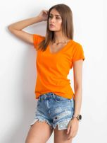 Pomarańczowy t-shirt Square                                  zdj.                                  3