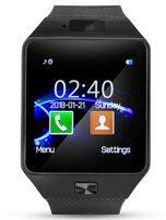 RONEBERG Smartwatch R09 Współpracuje z Android oraz iOS Powiadomienia Połączenia Krokomierz Monitor snu Czarny                                  zdj.                                  2