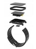 RONEBERG Smartwatch Smartband RA6 Pulsometr Ciśnieniomierz Oksymetr Powiadomienia Długi czas działania niebiesko-czarny                                  zdj.                                  6