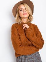 RUE PARIS Brązowy sweter Luca                                  zdj.                                  5