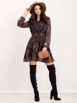 RUE PARIS Czarna sukienka Camilla                                  zdj.                                  5