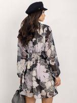 RUE PARIS Czarno-biała sukienka Riva                                  zdj.                                  2
