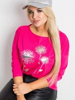 Różowa bluzka plus size Dreamer                                  zdj.                                  1